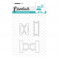 Kovinske šablone - Embossing Die Cut Stencil - Essentials Nr.124 - Studio Light