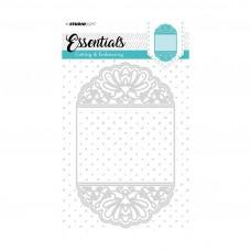 Kovinske šablone - Embossing Die Cut Stencil A6 - Essentials Nr.196 - Studio Light