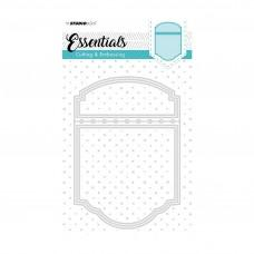 Kovinske šablone - Embossing Die Cut Stencil A6 - Essentials Nr.198 - Studio Light