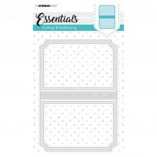 Kovinske šablone - Embossing Die Cut Stencil - Essentials Nr.97 - Studio Light