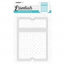 Kovinske šablone - Embossing Die Cut Stencil - Essentials Nr.98 - Studio Light