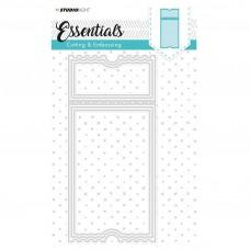 Kovinske šablone - Embossing Die Cut Stencil - Essentials Nr.99 - Studio Light