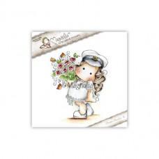 Štampiljka - Special 17 Student Tilda with Roses - Magnolia