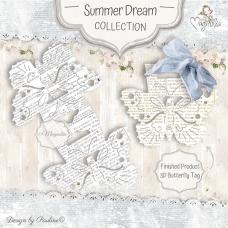 Kovinska šablona - So Wrapped Lovely Butterfly - Magnolia