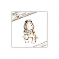 Štampiljka - Sweet Tilda With Band Aid - Magnolia