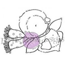 Štampiljka - Jingle (Penguin Sliding) - Purple Onion Designs