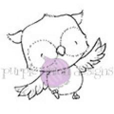 Štampiljka - Lilly (Garden Owl) - Purple Onion Designs
