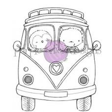 Štampiljka - VW Bus - Purple Onion Designs