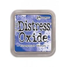 Tim Holtz Distress Oxide Ink Pad - Blueprint Sketch