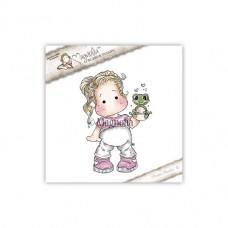 Štampiljka - Tilda With Froggy - Magnolia