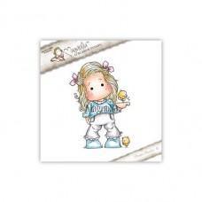 Štampiljka - Tilda With Little Chickens - Magnolia