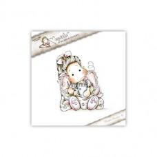 Štampiljka - Tilda With Bunny Slippers - Magnolia