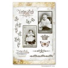 Set štampiljk - Stempelglede - Vintage Baby