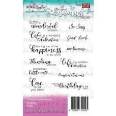 Set štampiljk - Sentimentals - Polkadoodles