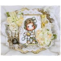 OOAK Handmade Greeting Card - Loves Me, Loves Me Not