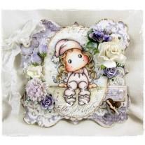 OOAK Mini Handmade Greeting Card