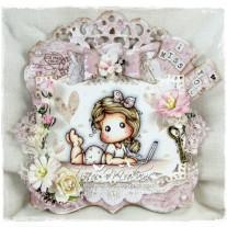 OOAK Handmade Greeting Card - I Miss You