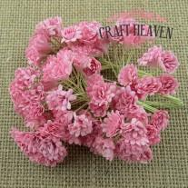 Baby Pink Mulberry Paper Gypsophila Flowers - 10mm