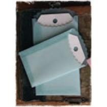 Vellum Envelopes & Tags - BLUE - Melissa Frances