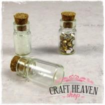 Mini glass bottle - 22mm