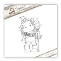 Tilda With Broom - Magnolia