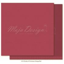 Paper - Monochromes - Shades of Christmas - Vintage Red