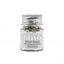 Nuvo - Gemstones - Silver Petals