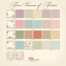 Paper - Four Seasons of Fairies - Complete 12x12 Collection