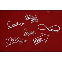 Brush Art Elements - Love Arrows - Scrapiniec
