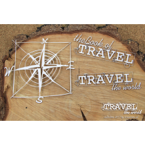 Travel The World - English Words - Scrapiniec