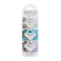 Nuvo Diamonds - Hybrid Ink Pads - Sea Siren