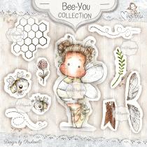 Bee-You Art Stamp Kit - Magnolia