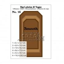 Crea-Lies Big Labelzz & Tagzz Dies no.16 - Smooth