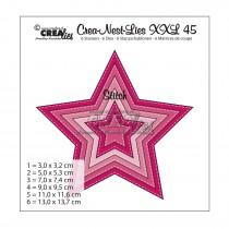 Crea-Nest-Lies XXL Dies no.45 - Stars With Stitchline