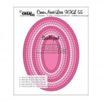 Crea-Nest-Lies XXL Dies no.55 - Scalloped Ovals
