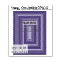 Crea-Nest-Lies XXL Dies no. 83 - Rectangles with Small Circles