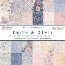 Maja Design - Denim & Girls - Complete 12x12 Collection