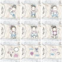 Hugs & Kisses - Complete Collection - Stamps (9 sets of stamps) - Magnolia