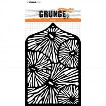 Mask stencil A6 Grunge collection 3.0 nr.28 - Studio Light