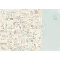 Paper - Vintage Journal - Cherry Blossom Lane