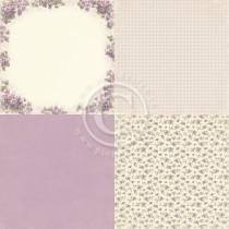 Paper - Violet 6x6 - Easter Greetings