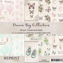 Reprint - Dream Big - 12x12 Inch Collection Pack