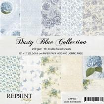 Reprint - Dusty Blue - 12x12 Inch Collection Pack