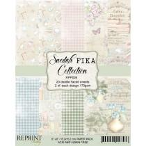 Reprint - Swedish Fika Collection - 6x6 Inch Paper Pack
