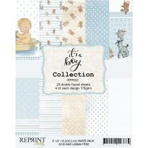 Reprint - It´s a Boy Collection - 6x6 Inch Paper Pack