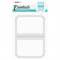 Embossing Die Cut Stencil - Essentials Nr.97 - Studio Light