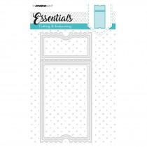 Embossing Die Cut Stencil - Essentials Nr.98 - Studio Light