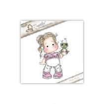 Tilda With Froggy - Magnolia
