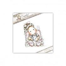 Tilda With Bunny Slippers - Magnolia