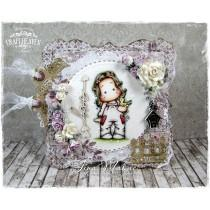 OOAK Handmade Greeting Card - Tilda with Early Bird